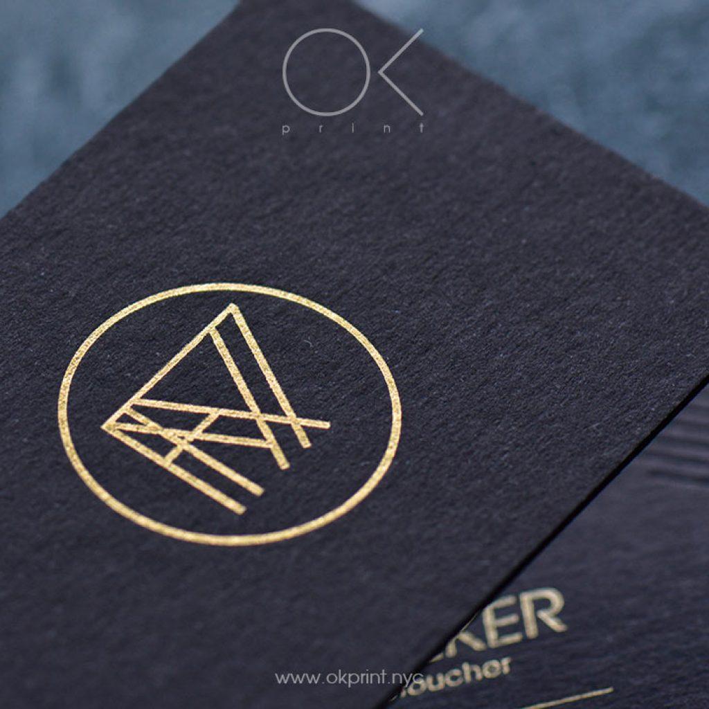 luxury business cards okprint new york